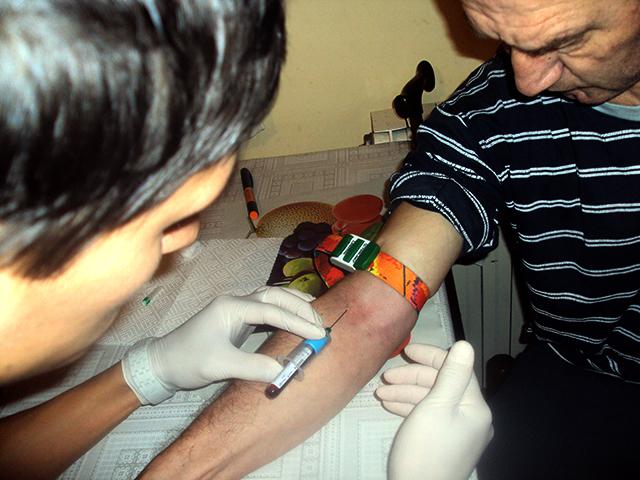 vadenje krvi
